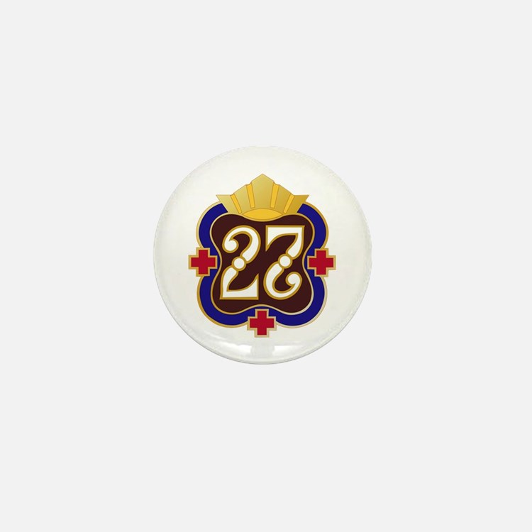 Army - 27th Surgical Hospital No Text Mini Button