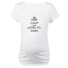 Keep Calm and Listen to Aden Shirt