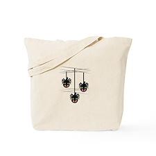 Spider Ornaments Tote Bag