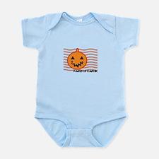 Pumped Up Pumpkin Body Suit