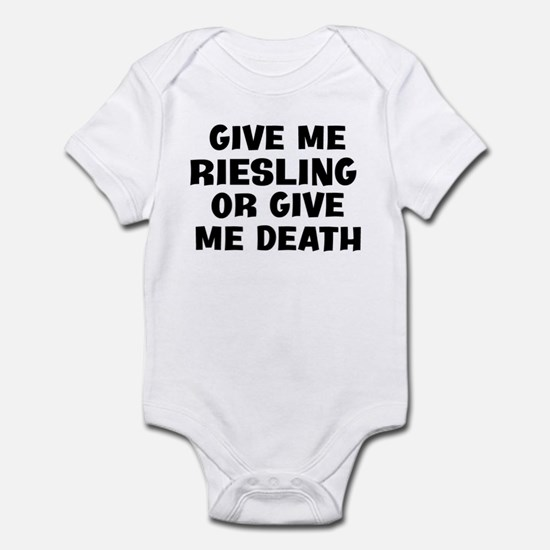 Give me Riesling Infant Bodysuit