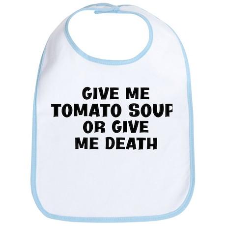 Give me Tomato Soup Bib