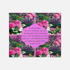 ISAIAH 41:10 Throw Blanket