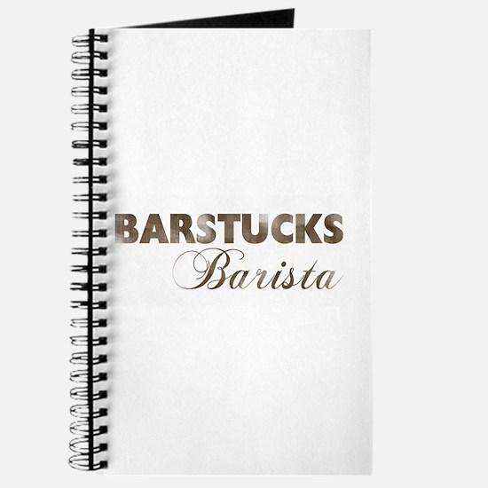 BARSTUCKS BARISTA Journal