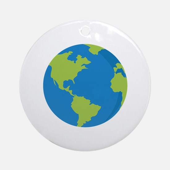 Globe Ornament (Round)