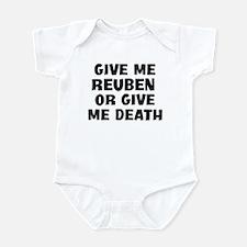 Give me Reuben Infant Bodysuit
