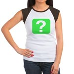 Question? Women's Cap Sleeve T-Shirt