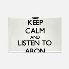 Keep Calm and Listen to Aron Magnets