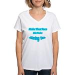 Make That Face... Women's V-Neck T-Shirt