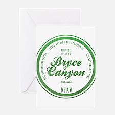 Bryce Canyon National Park, Utah Greeting Cards