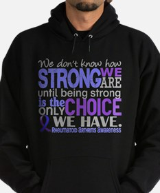 RA How Strong We Are Hoodie (dark)