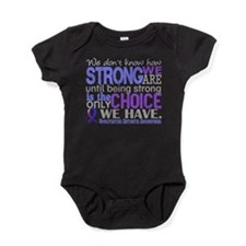 RA How Strong We Are Baby Bodysuit