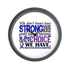 RA How Strong We Are Wall Clock