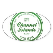 Channel Islands National Park, California Decal