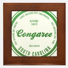 Congaree National Park, South Carolina Framed Tile