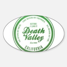 Death Valley National Park, California Decal
