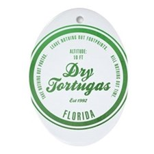 Dry Tortugas National Park, Florida Ornament (Oval