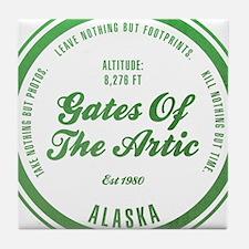 Gates of the Arctic National Park, Alaska Tile Coa