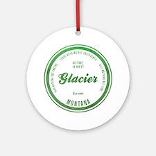 Glacier National Park, Montana Ornament (Round)