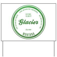 Glacier National Park, Montana Yard Sign