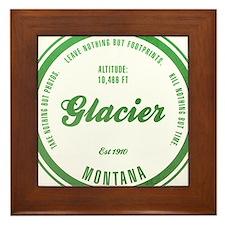 Glacier National Park, Montana Framed Tile