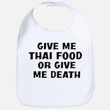 Give me Thai Food Bib