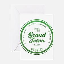 Grand Teton National Park, Wyoming Greeting Cards