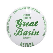 Great Basin National Park, Nevada Ornament (Round)