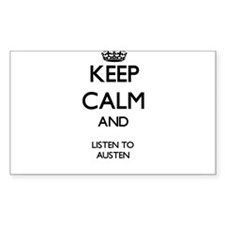 Keep Calm and Listen to Austen Decal