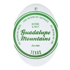 Guadalupe Mountains National Park, Texas Ornament