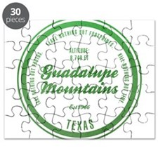 Guadalupe Mountains National Park, Texas Puzzle