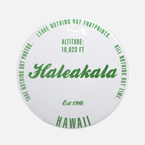 Haleakala National Park, Hawaii Ornament (Round)