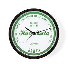 Haleakala National Park, Hawaii Wall Clock