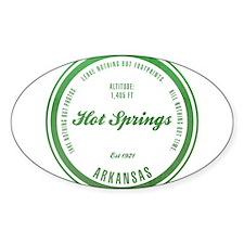 Hot Springs National Park, Arkansas Decal