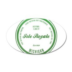 Isle Royale National Park, Michigan Wall Decal