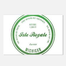 Isle Royale National Park, Michigan Postcards (Pac