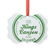 Kings Canyon National Park, California Ornament