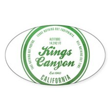 Kings Canyon National Park, California Decal