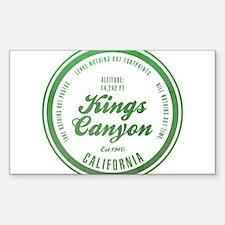Kings Canyon National Park, California Decal