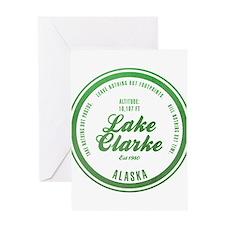 Lake Clark National Park, Alaska Greeting Cards