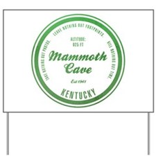 Mammoth Cave National Park, Kentucky Yard Sign