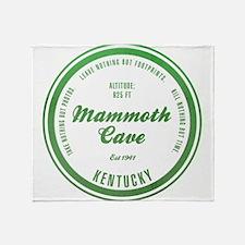 Mammoth Cave National Park, Kentucky Throw Blanket