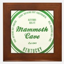 Mammoth Cave National Park, Kentucky Framed Tile