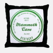 Mammoth Cave National Park, Kentucky Throw Pillow