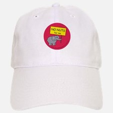 NO NUTS for me Baseball Baseball Cap