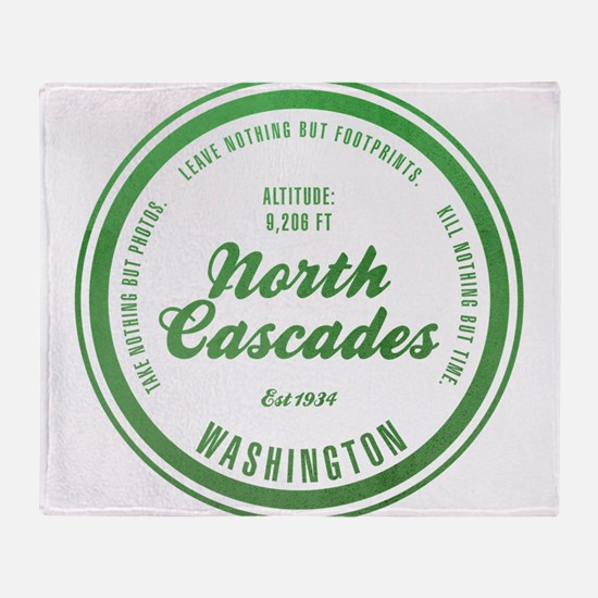 North Cascades National Park, Washington Throw Bla