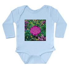 ISAIAH 41:10 Long Sleeve Infant Bodysuit