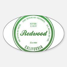 RedWood National Park, California Decal