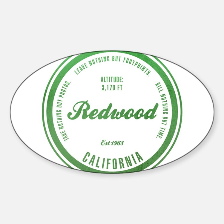 RedWood National Park, California Decal