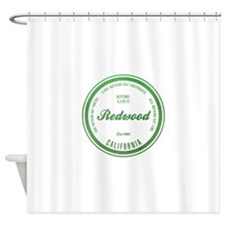 RedWood National Park, California Shower Curtain